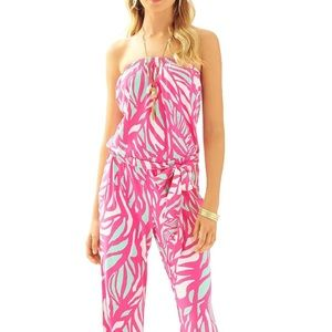 NWT Lilly Pulitzer TIA Jumpsuit size M